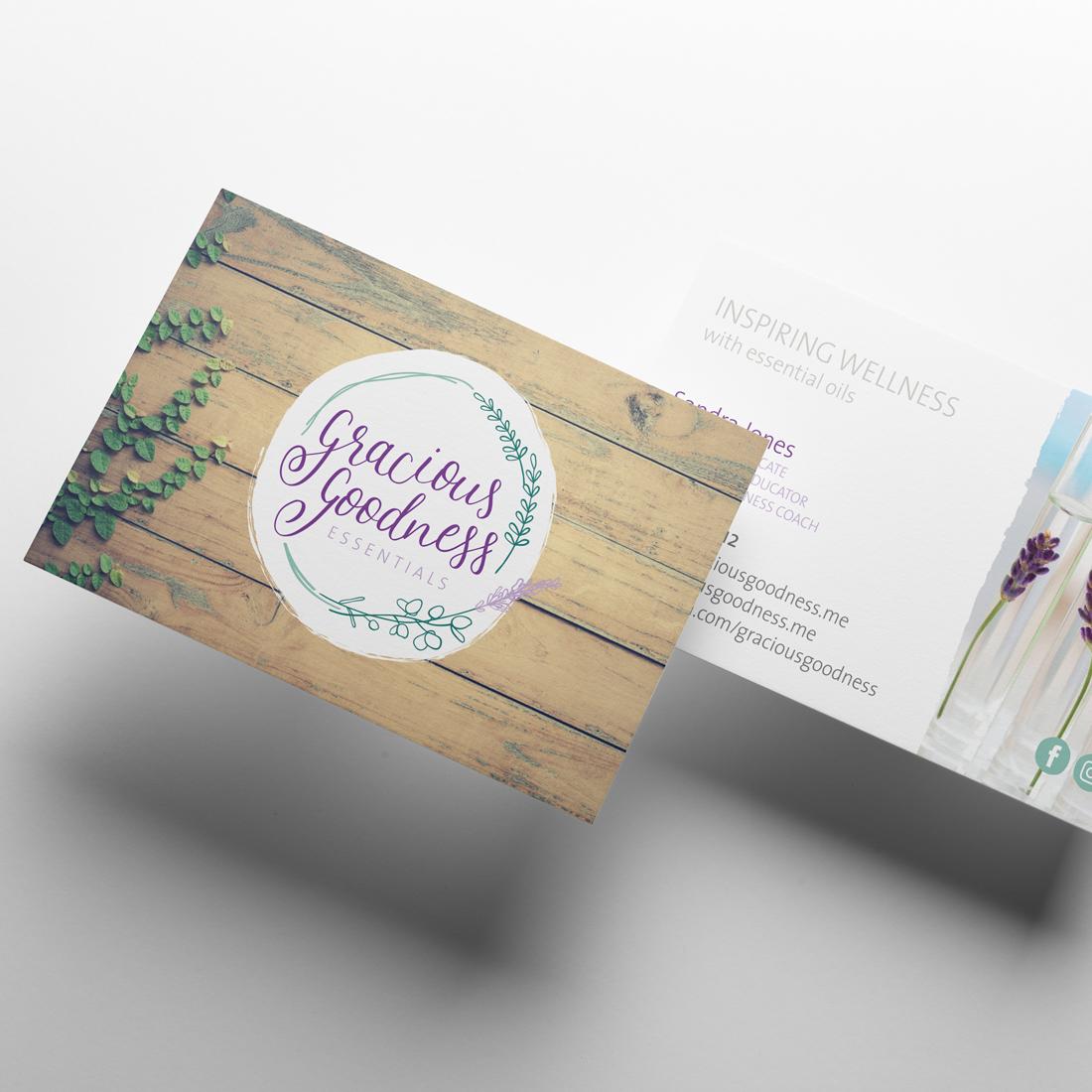 Gracious Goodness Essentials Business Cards