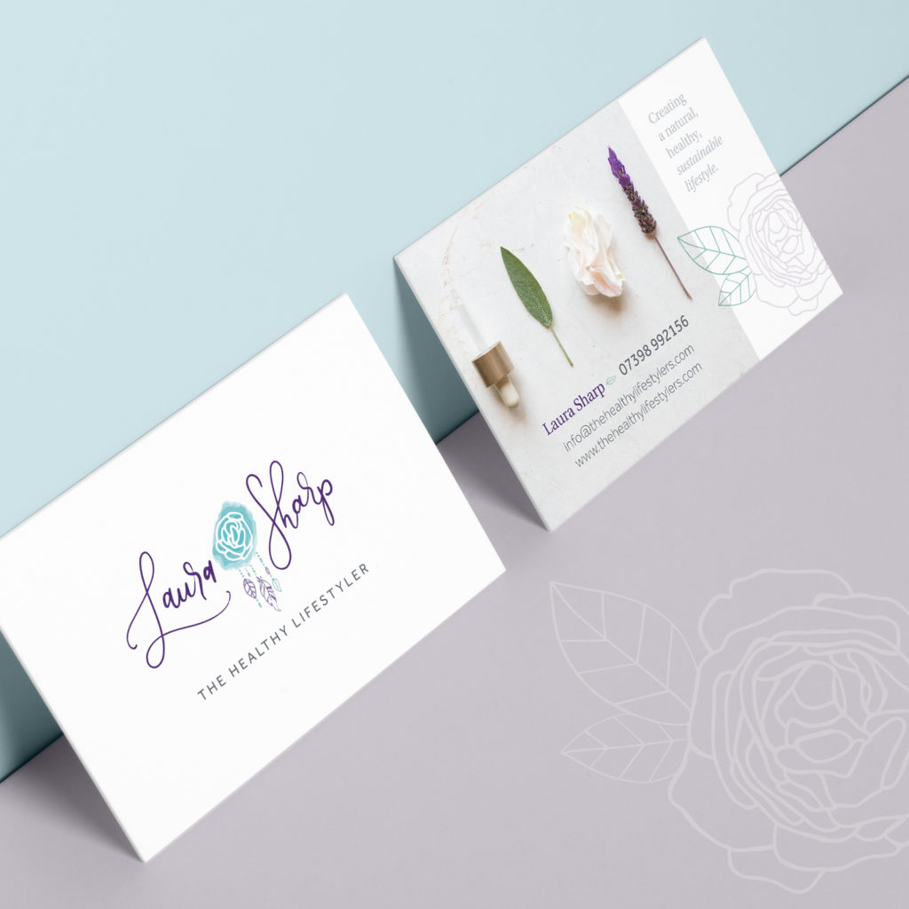 Laura Sharp Business Cards
