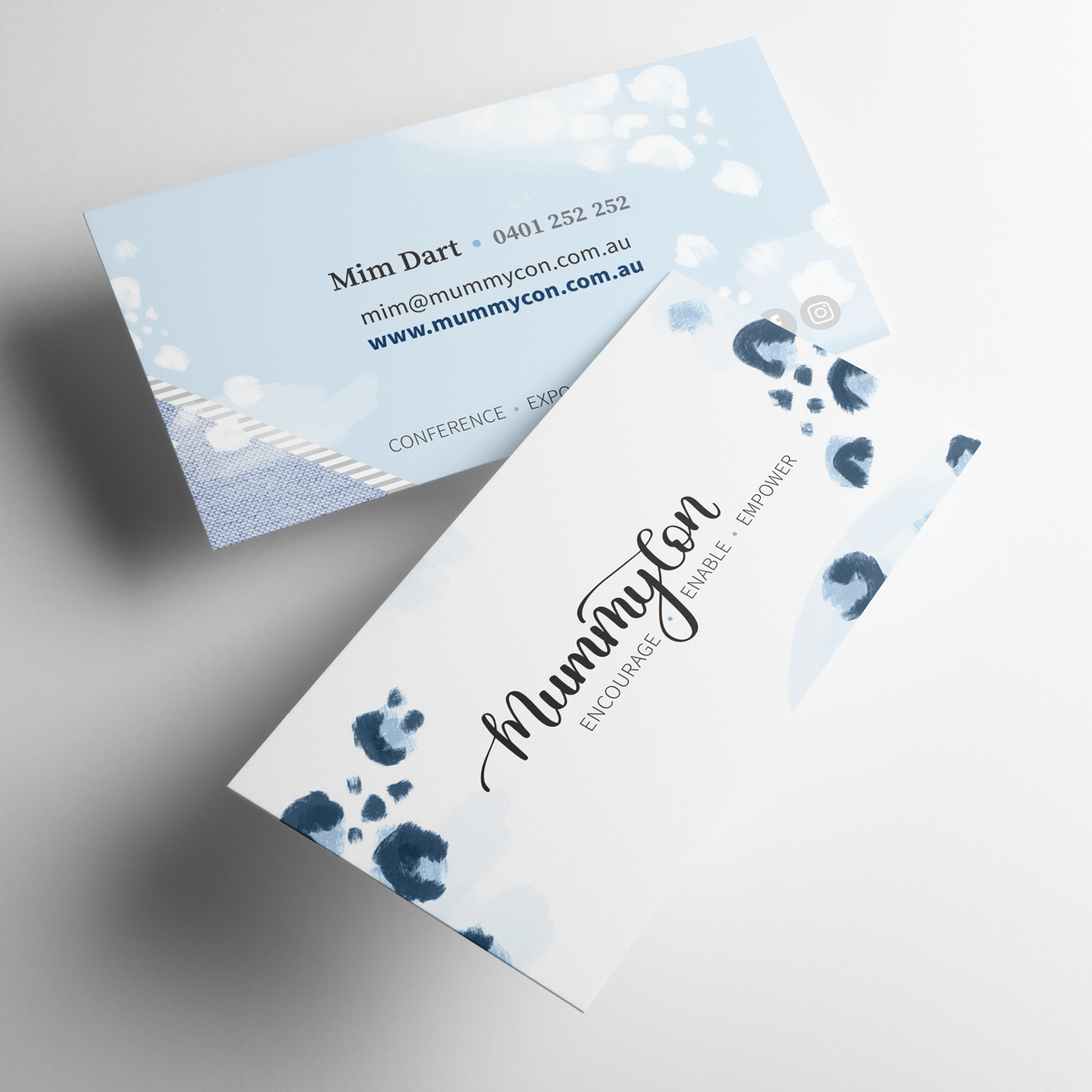 MummyCon Business Cards