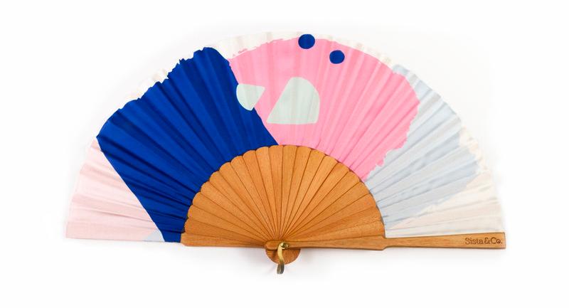 Sista & Co branded fan