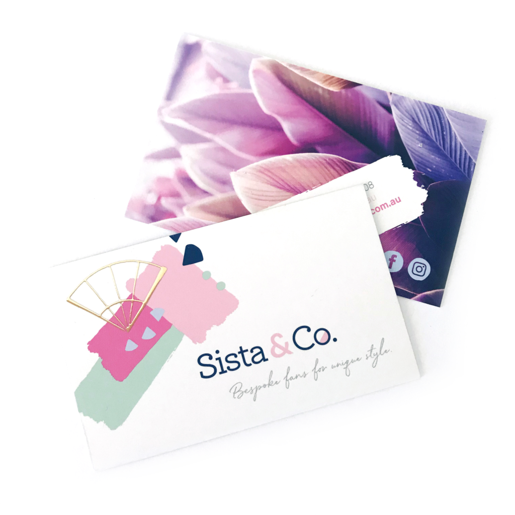 Sista & Co Business Cards