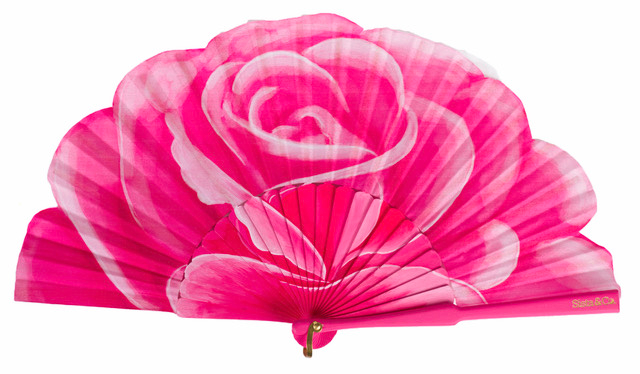 Sista & Co rose fan
