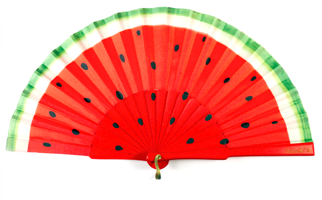 Sista & Co watermelon fan