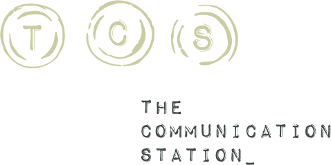 The Communication Station Logo