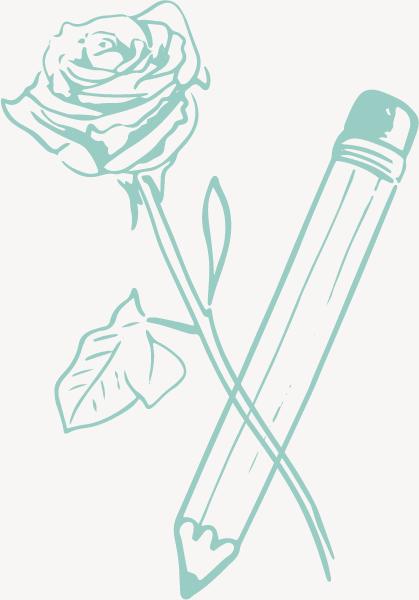 flower-pencil