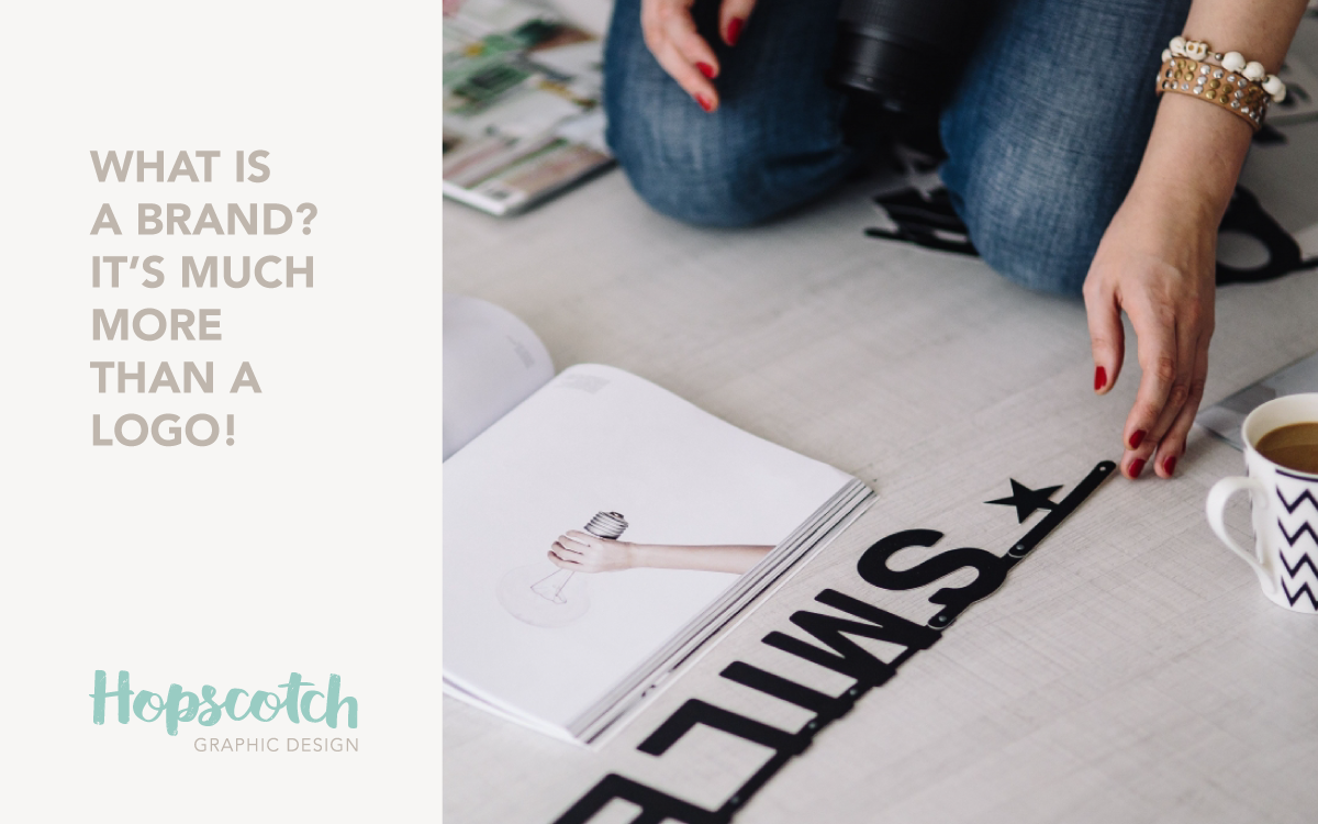 What is a brand? It's not your logo!