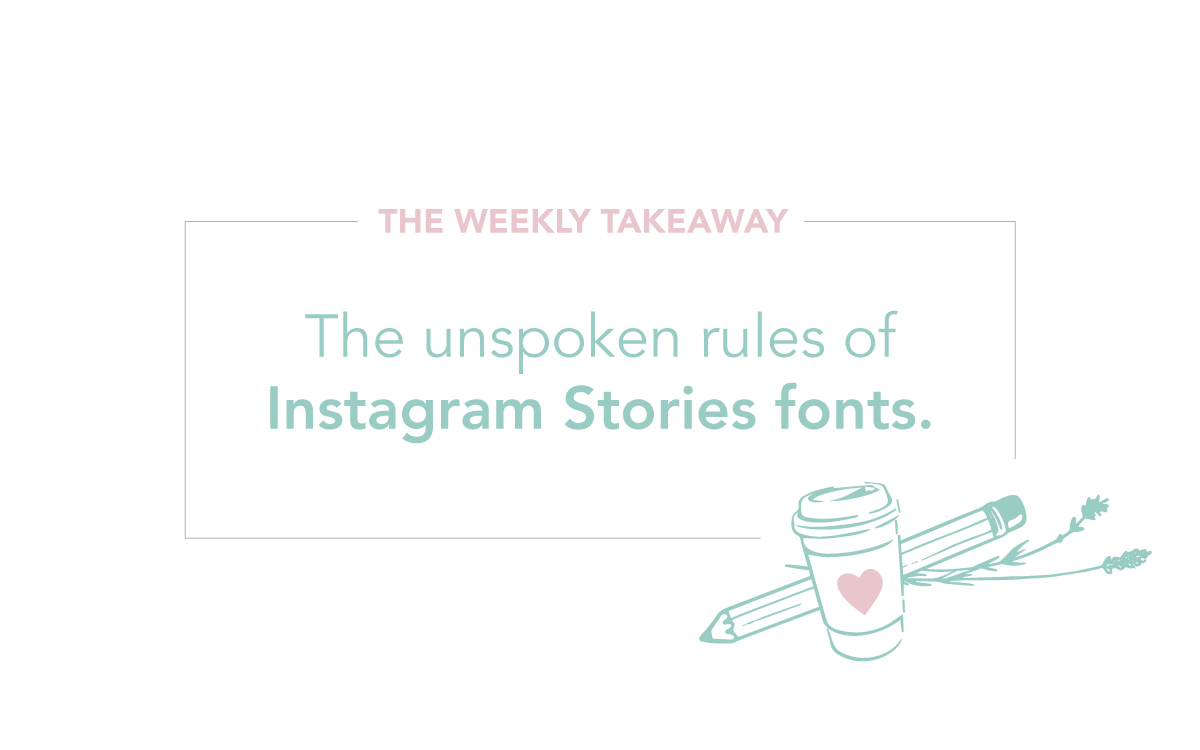 Instagram Stories Fonts Tutorial